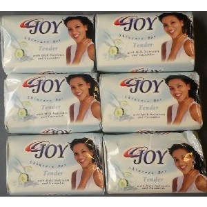 6x Joy Skincare Bar Soap 75g (6 Pieces)