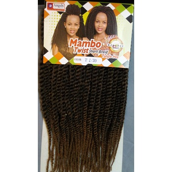 Angels Mambo  Twist Short Braids 15
