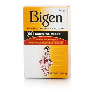 Bigen Powder Hair Color - 59 Oriental Black