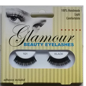 Glamour Beauty Eyelashes - 101 Black