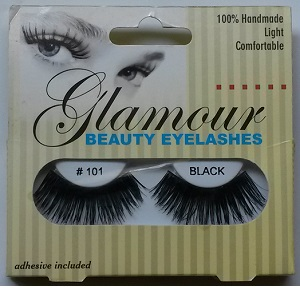Glamour Beauty Eyelashes - #101 Black