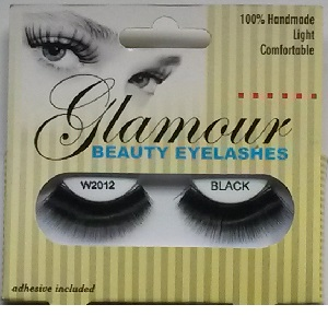 Glamour Beauty Eyelashes -W2012 Black