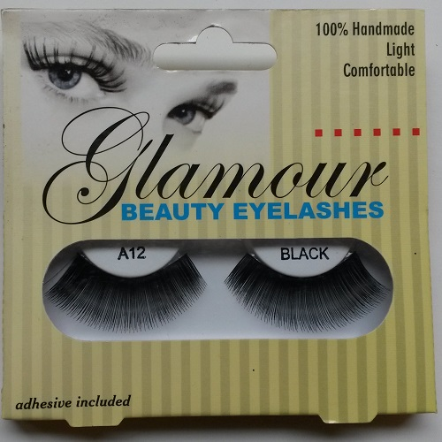 Glamour Beauty Eyelashes  - A12  Black