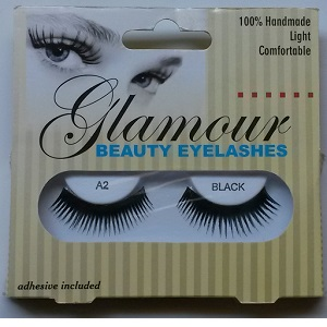 Glamour Beauty Eyelashes - A2 Black