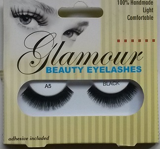 Glamour Beauty Eyelashes - A5 Black