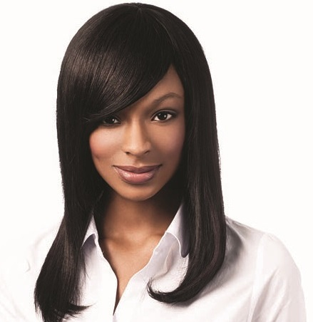 Sleek Human Hair Gabrielle  Wig