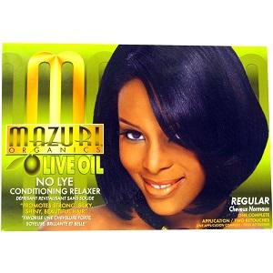 Mazuri Organics Olive oil No-Lye Conditioning Relaxer Regular