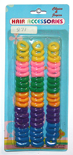 Crunches Multi Colour - Small  (78pcs)