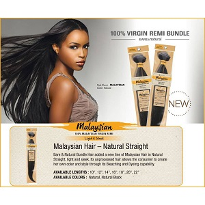 Bare & Natural 100% Malaysian Virgin Remi 10