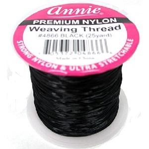Premium Nylon Weaving Thread 25yards - Black