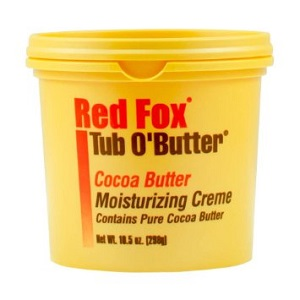 Red Fox Tub-O-Butter Cocoa Butter Moisturizing Creme 10.5oz