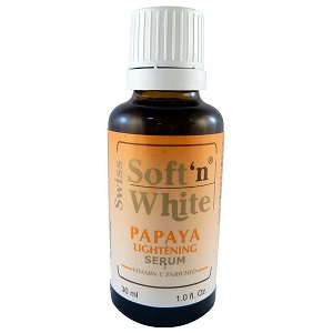 Swiss Soft'n White Papaya Lightening Serum 30ml