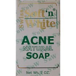Swiss Soft n White Acne Natural Soap