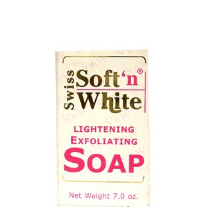 Swiss Soft'n White Lightening Exfoliating Soap