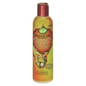 TCB NATURALS ARGAN OIL MOISTURIZING LOTION 8 OZ