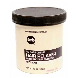 TCB No Base Crème Hair Relaxer - Regular 15oz