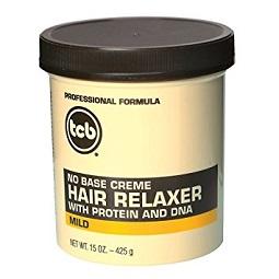 TCB No Base Crème Hair Relaxer Mild 15oz