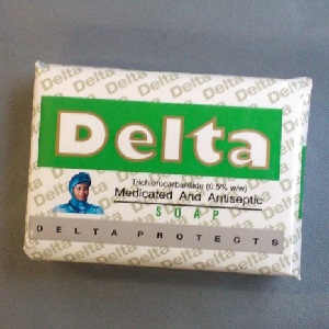DELTA MEDICATED AND ANTISEPTIC SOAP 85g