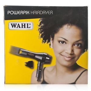 Wahl Powerpik Hairdryer 1250W With Pik Attachment