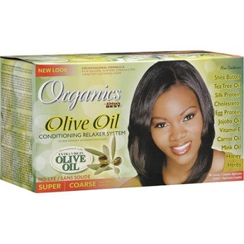 Africa Best ORGANICS Olive Oil Relaxer - Super
