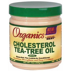 Africa's Best Organics Cholesterol Tea-Tree Oil Dual Conditioner 15oz