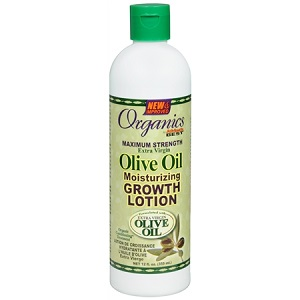 Africa's Best Organics Olive Oil Growth Lotion 12 oz