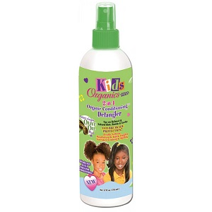 Africa's Best Kids Organics Detangler 2-N-1 Spray 12 oz