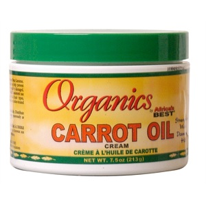 Africa's Best Organics Carrot Oil Cream 12oz