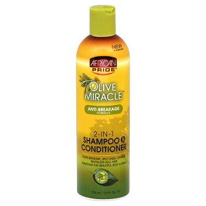 African Pride 2 In 1 Shampoo and Conditioner 355ml/12 oz