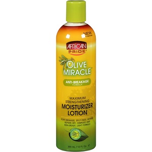 African Pride Olive Miracle Moisturizer Lotion 12 oz