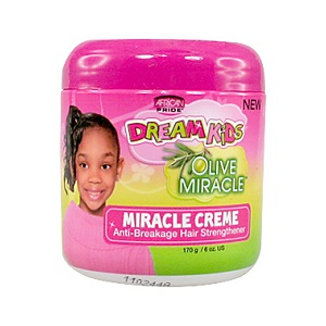 African Pride Dream Kids Olive Miracle Cream, 6 oz