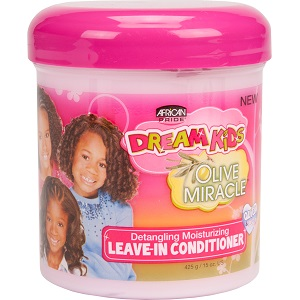 African Pride Dream Kids Olive Miracle Detangling Moisturizing Conditioner 355 ml