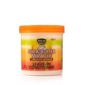 African Pride Shea Butter Moisture Intense Miracle Leave in Conditioner 15 oz