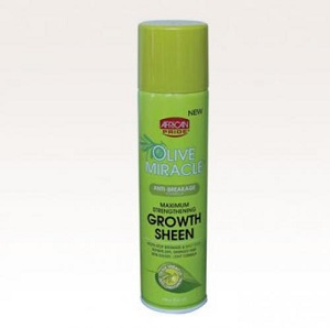 African Pride Olive Miracle Braid Sheen Spray 355 ml
