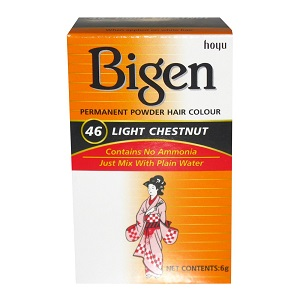 Bigen Powder Hair Color - 46 Light Chestnut