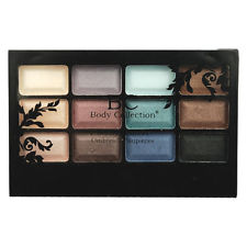 Body Collection 12pc Eyeshadow Compact 12x0.7g