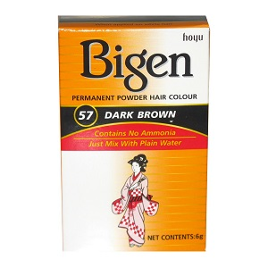 Bigen Powder Hair Color - 57 Dark Brown
