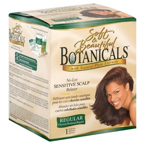 Soft & Beautiful Botanicals Relaxer Kit Regular