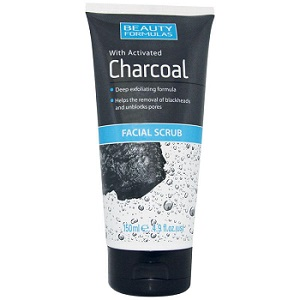 Beauty Formulas Charcoal Facial Scrub 150ml