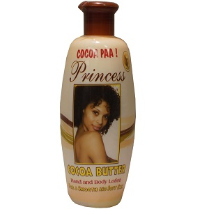 Princess Cocoa Paa Cocoa butter Hand and Body Lotion 400ml