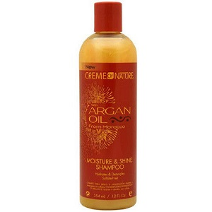 Cream Of Nature Argan oil Moisture & Shine Shampoo 12oz