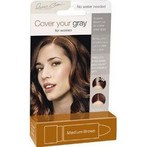 Cover Your Gray Lipstick  - Medium Brown