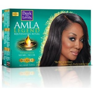 Dark and lovely Amla Legend No-Mix No-Lye Relaxer