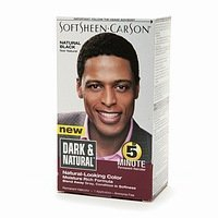 Dark & Natural Men's Hair Color Natural Black