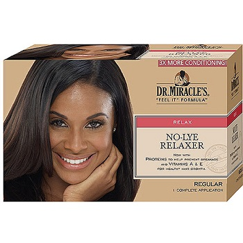 Dr. Miracles  No Lye Relaxer Regular Kit