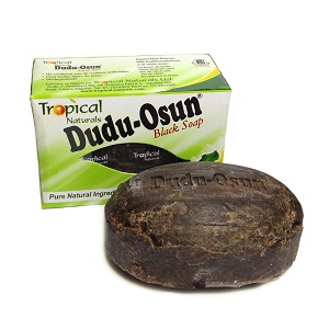 12 x Tropical Naturals Dudu Osun Black Soap 150g (1 Dozen)