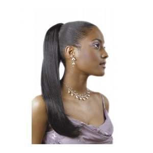 Sleek Euro Long Synthetic EZ PonyTail