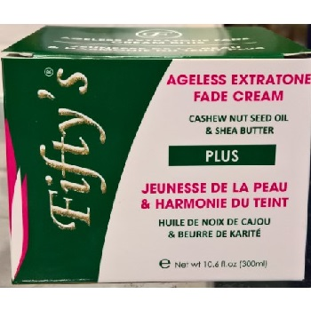 Fifty's Ageless Extratone Fade Cream Plus 300ml