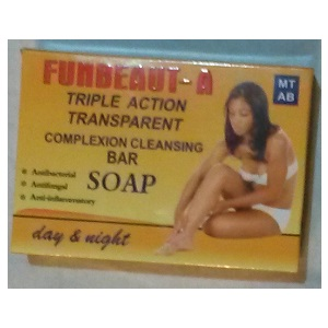 FUNBEAT-A triple Action Transparent Complexion Cleansing Soap 150g