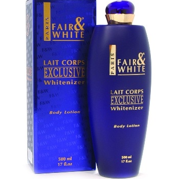 Fair & White Exclusive Whitenizer Body Lotion 500 ml